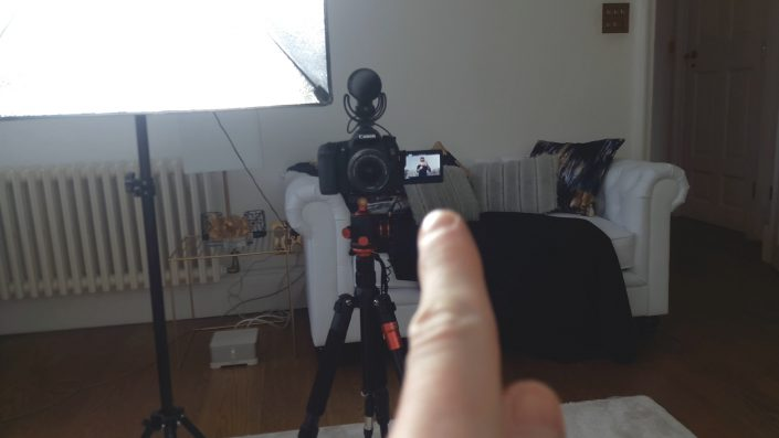How I Record My Videos (Behind The Scenes!)